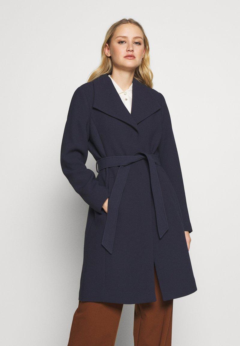 Esprit Collection - PLAIN COAT - Płaszcz wełniany /Płaszcz klasyczny - navy
