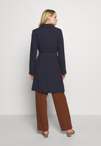 Esprit Collection - PLAIN COAT - Płaszcz wełniany /Płaszcz klasyczny - navy - 2