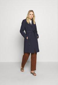 Esprit Collection - PLAIN COAT - Płaszcz wełniany /Płaszcz klasyczny - navy - 1