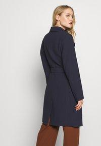 Esprit Collection - PLAIN COAT - Płaszcz wełniany /Płaszcz klasyczny - navy - 4