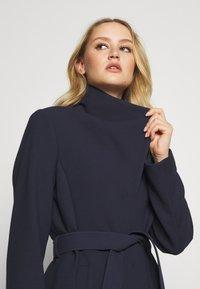 Esprit Collection - PLAIN COAT - Classic coat - navy - 3
