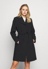 Esprit Collection - PLAIN COAT - Zimní kabát - black - 0