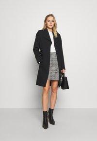 Esprit Collection - PLAIN COAT - Zimní kabát - black - 1