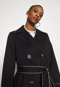 Esprit Collection - FEMININE COAT - Trench - black - 4