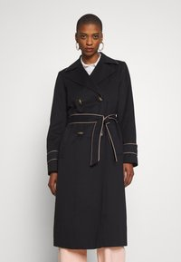 Esprit Collection - FEMININE COAT - Trench - black - 0