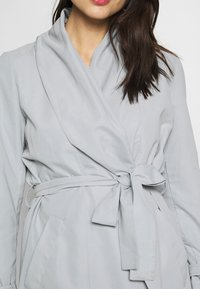 Esprit Collection - FEMININE COAT - Halflange jas - grey blue - 5