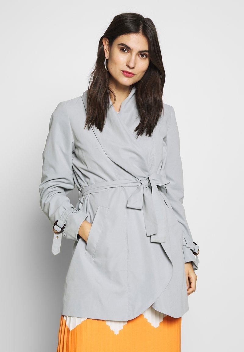 Esprit Collection - FEMININE COAT - Halflange jas - grey blue