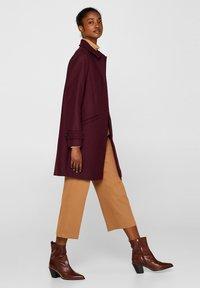 Esprit Collection - MIT WOLLE - Manteau classique - bordeaux red - 3