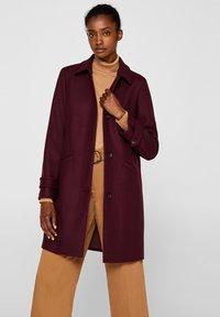 Esprit Collection - MIT WOLLE - Manteau classique - bordeaux red - 0