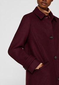 Esprit Collection - MIT WOLLE - Manteau classique - bordeaux red - 4