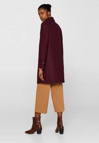 Esprit Collection - MIT WOLLE - Manteau classique - bordeaux red - 2