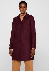 Esprit Collection - MIT WOLLE - Manteau classique - bordeaux red - 5