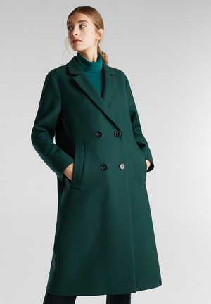Classic coat - bottle green