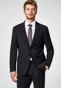 Esprit Collection - ACTIVE SUIT  - Colbert - black - 0