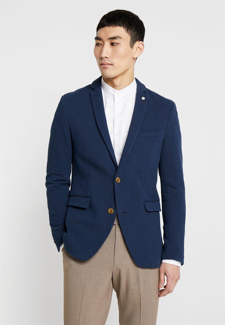 Esprit Collection - ELBOW PATCH  - Sakko - dark blue