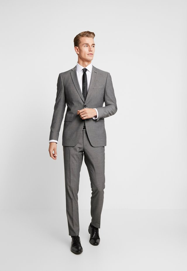 TONE BIRDSEYE - Suit - grey