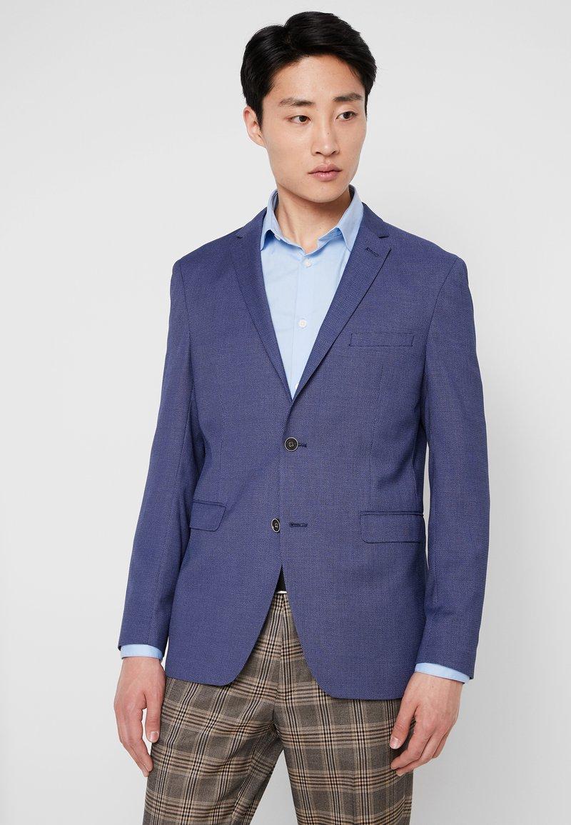 Esprit Collection - SUMMER STRUCTUR - Pikkutakki - blue