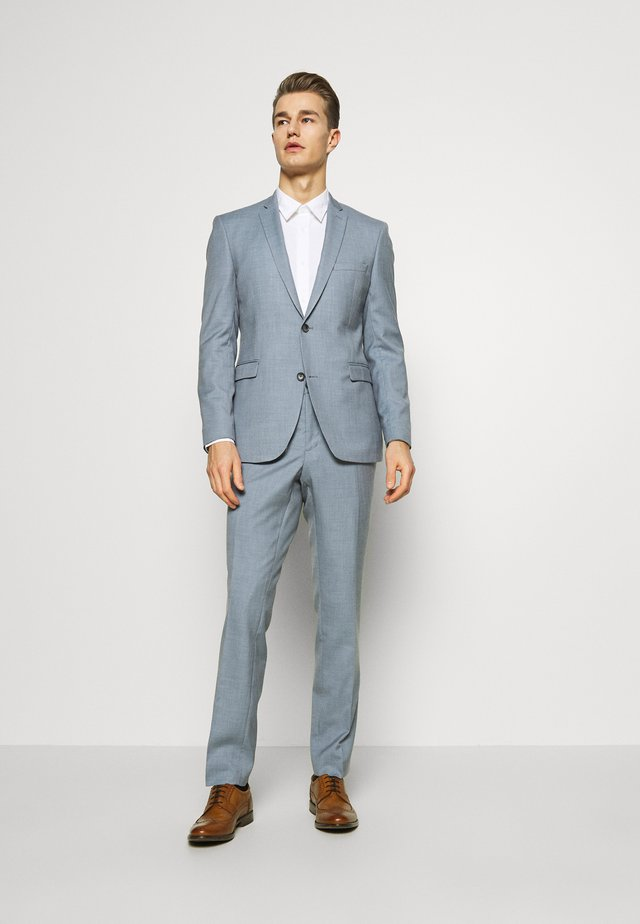 SHARKSKIN - Traje - light blue
