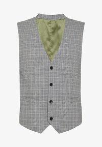 Esprit Collection - PRINCE CHECK - Suit waistcoat - light grey - 3