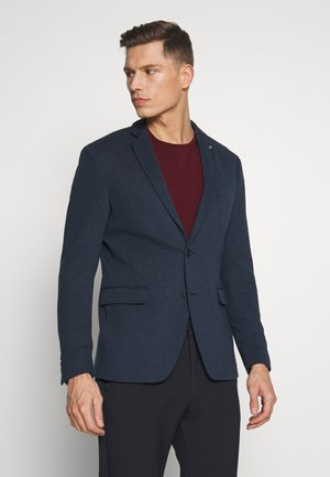SOFT TONE - Blazer jacket - dark blue