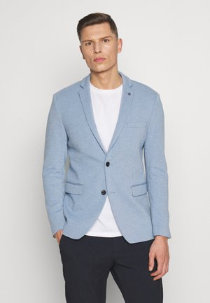 SOFT TONE - Blazer jacket - light blue