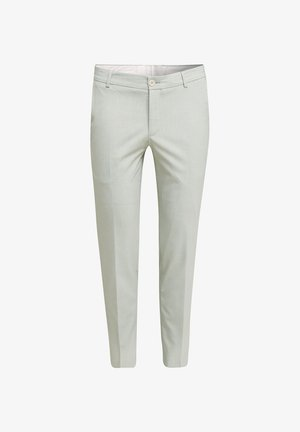 PLAIN SAGE PANTS - Pantalon de costume - pastel green
