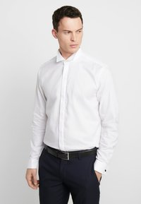 Esprit Collection - SMOKING SLIM FIT - Camisa elegante - white - 0