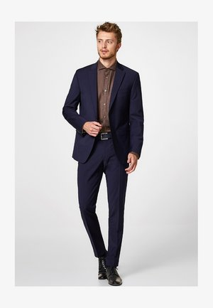 ACTIVE SUIT AUS WOLL-MIX - Anzughose - navy
