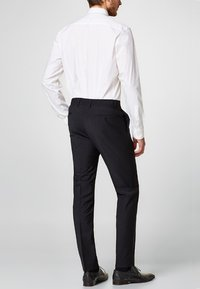 Esprit Collection - ACTIVE SUIT AUS WOLL-MIX - Pantaloni eleganti - black - 2