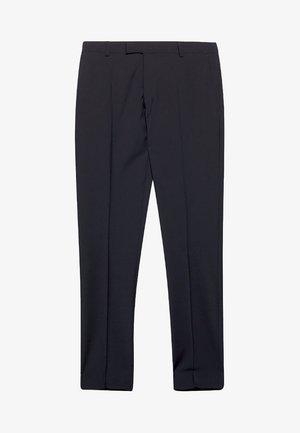 ACTIVE SUIT AUS WOLL-MIX - Oblekové kalhoty - black