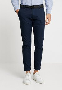 Esprit Collection - Chino - navy - 0