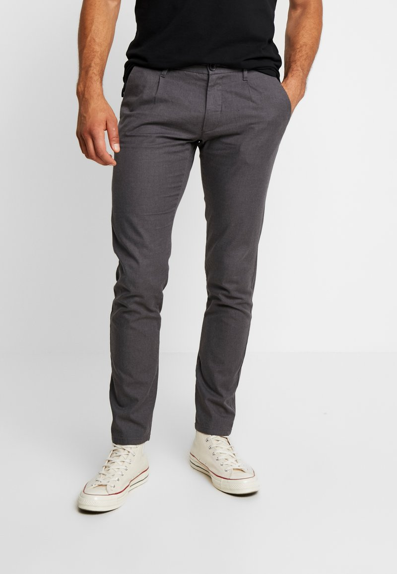 Esprit Collection - Trousers - anthracite