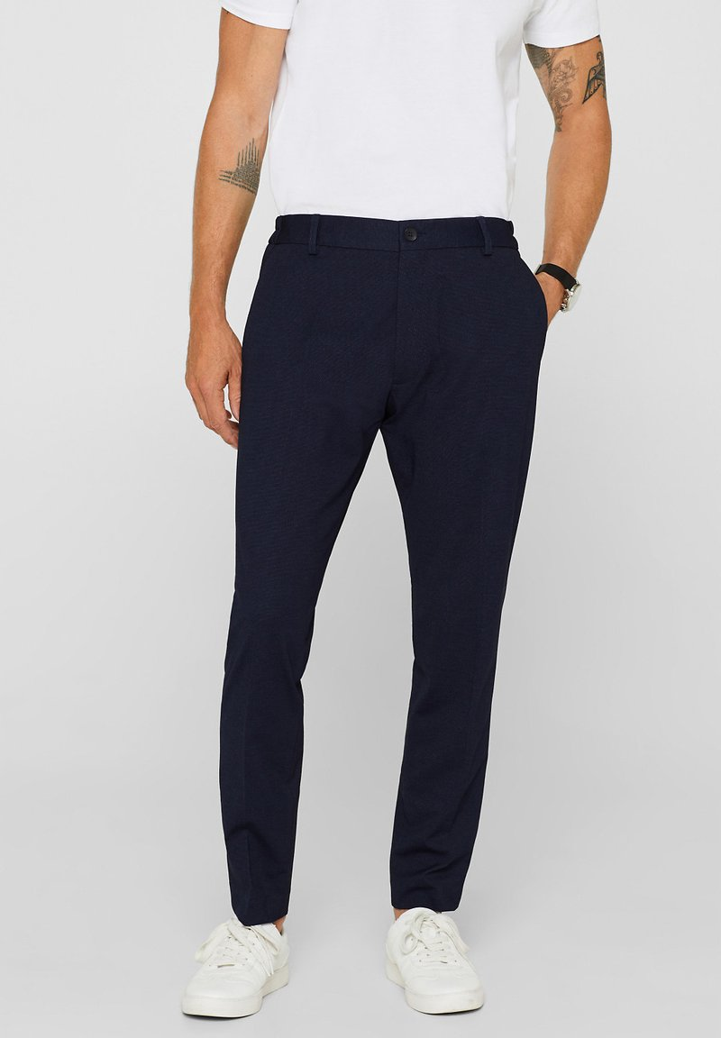 Esprit Collection - COMFORT - Anzughose - navy