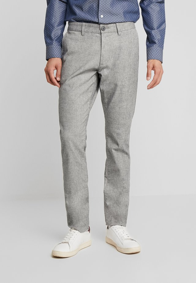 BRUSHED - Broek - grey