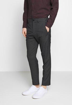 WINTER MELANGE - Pantalon classique - dark grey