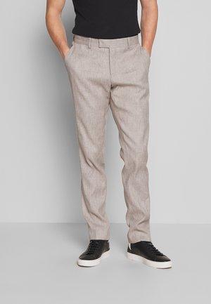 Suit trousers - sand