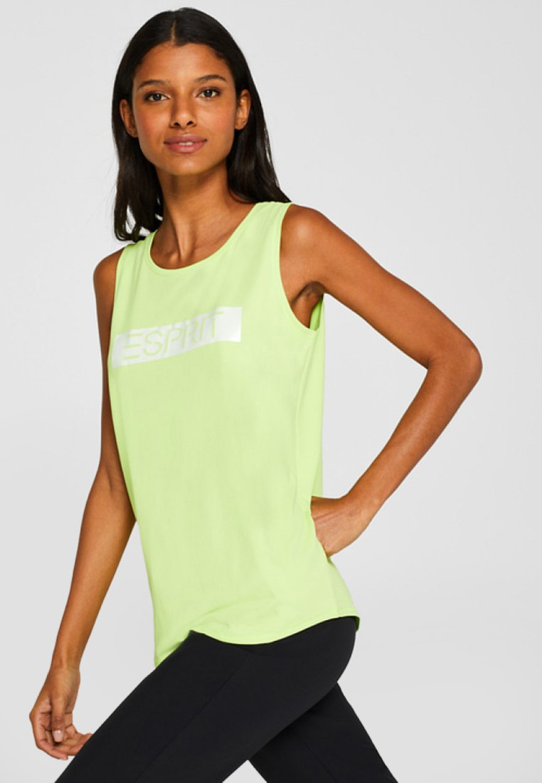 Esprit Sports - Funktionsshirt - lime yellow