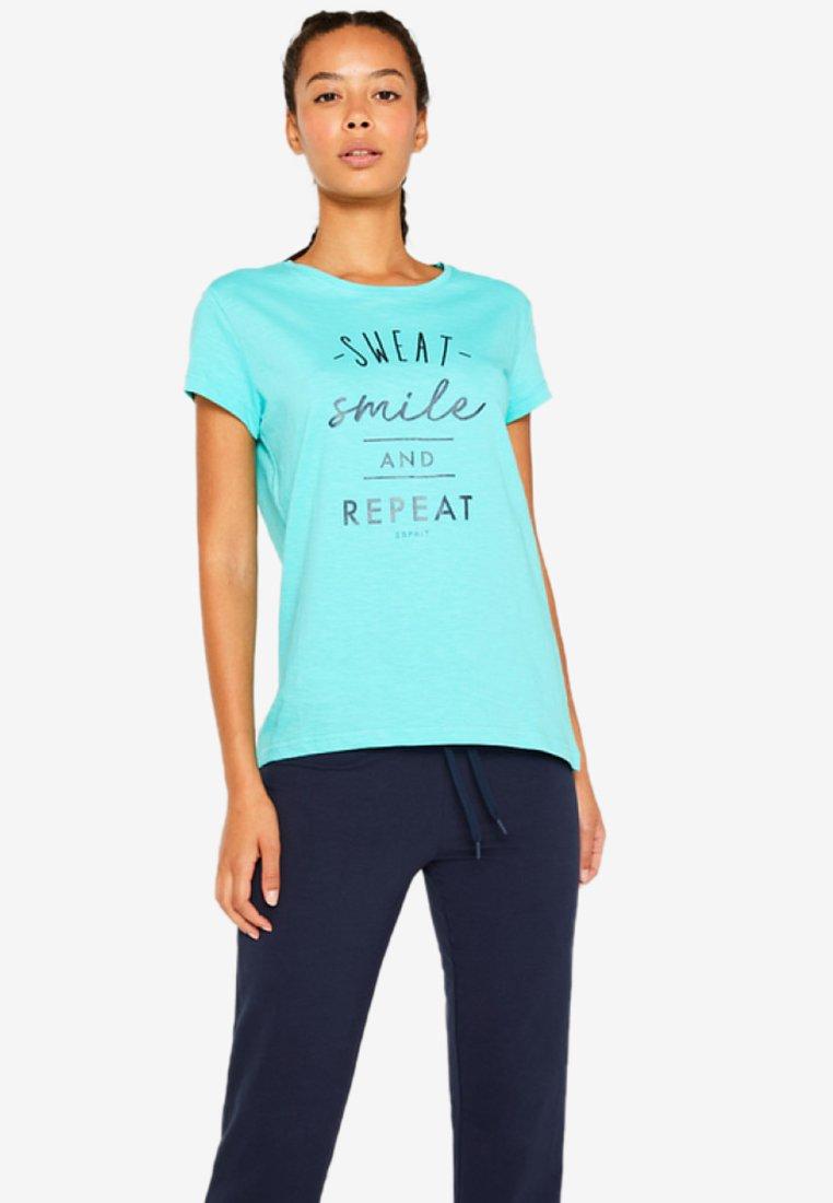 Turquoise Esprit Statement Mit D'équipe Sports PrintVêtements eIEW9bDH2Y