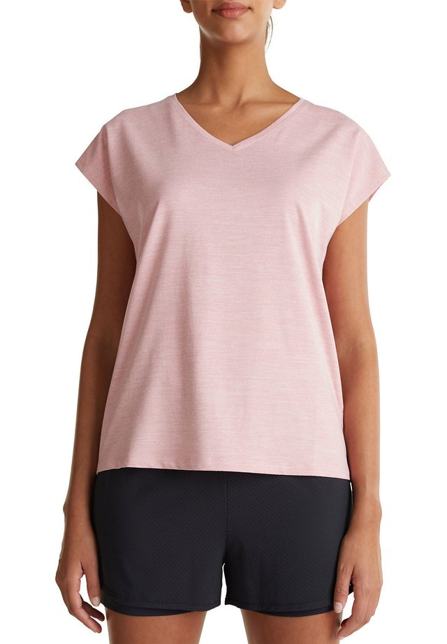T-Shirt basic - old pink