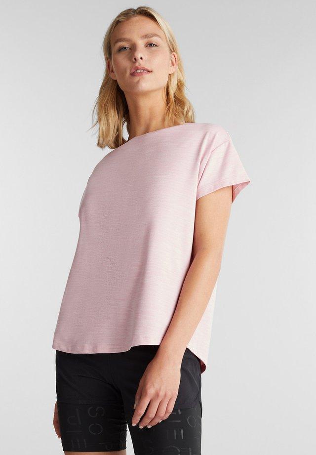Print T-shirt - light pink