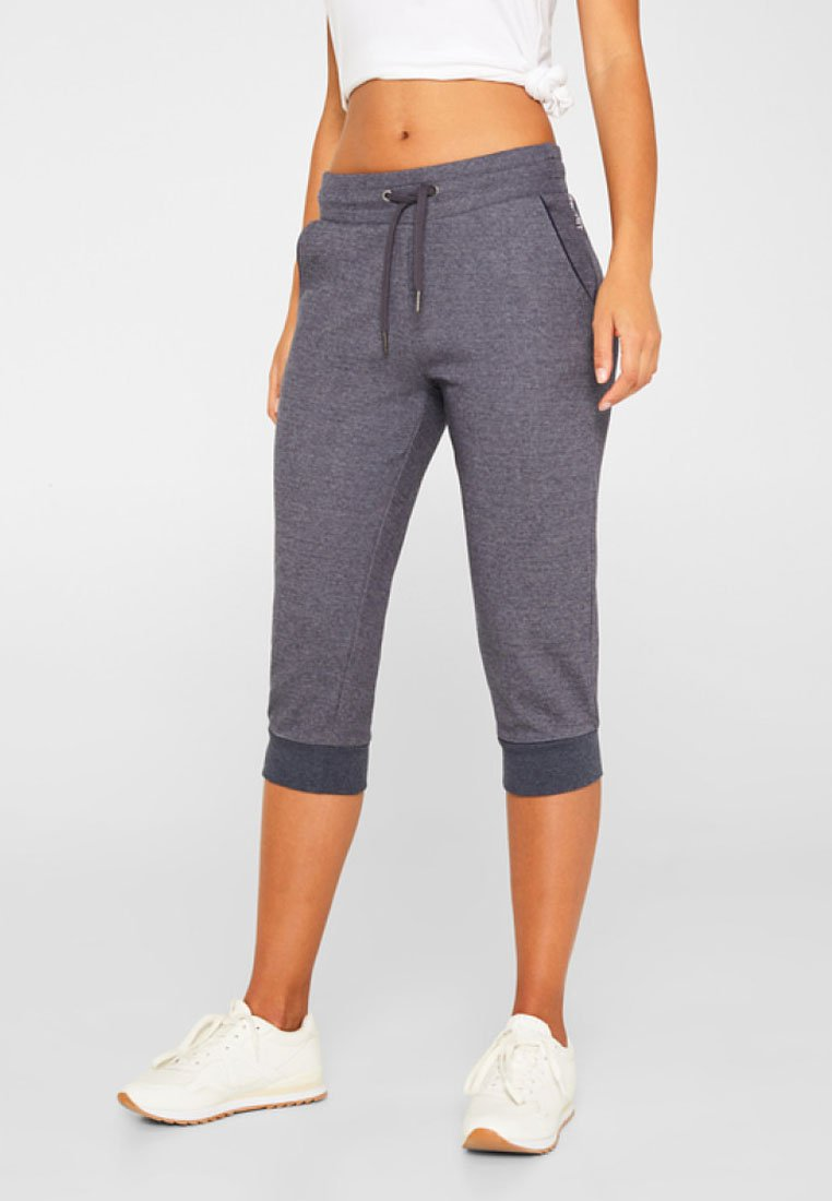 Esprit Sports - FASHION CAPRI - 3/4 sports trousers - navy