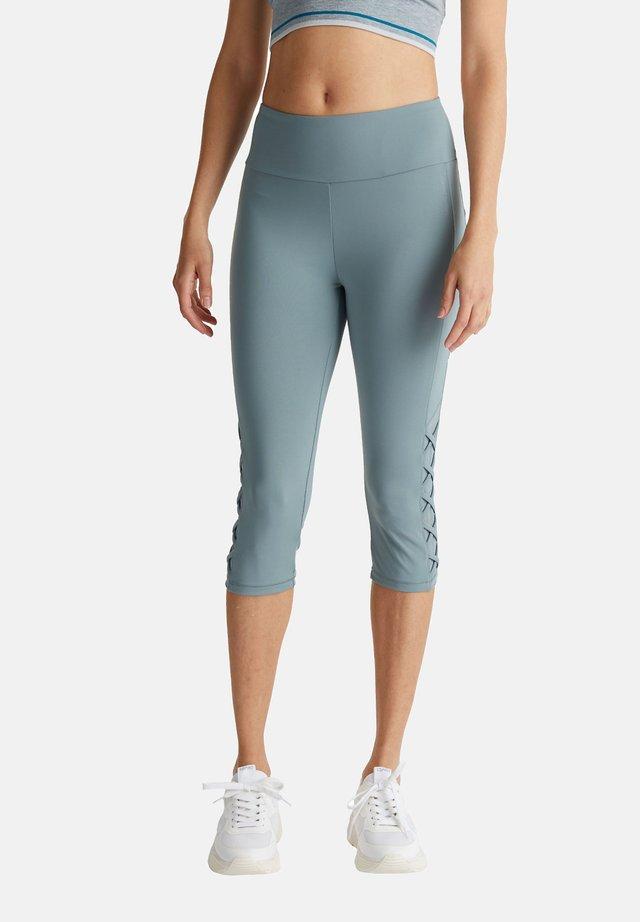 3/4 sports trousers - dusty green