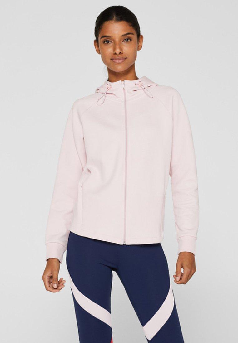 Esprit Sports - veste en sweat zippée - light pink