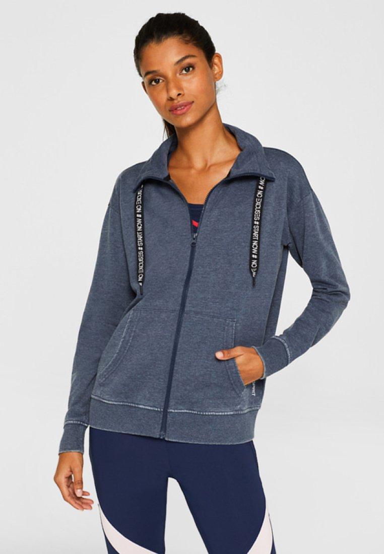 Esprit Sports - Sweatjakke /Træningstrøjer - dark blue