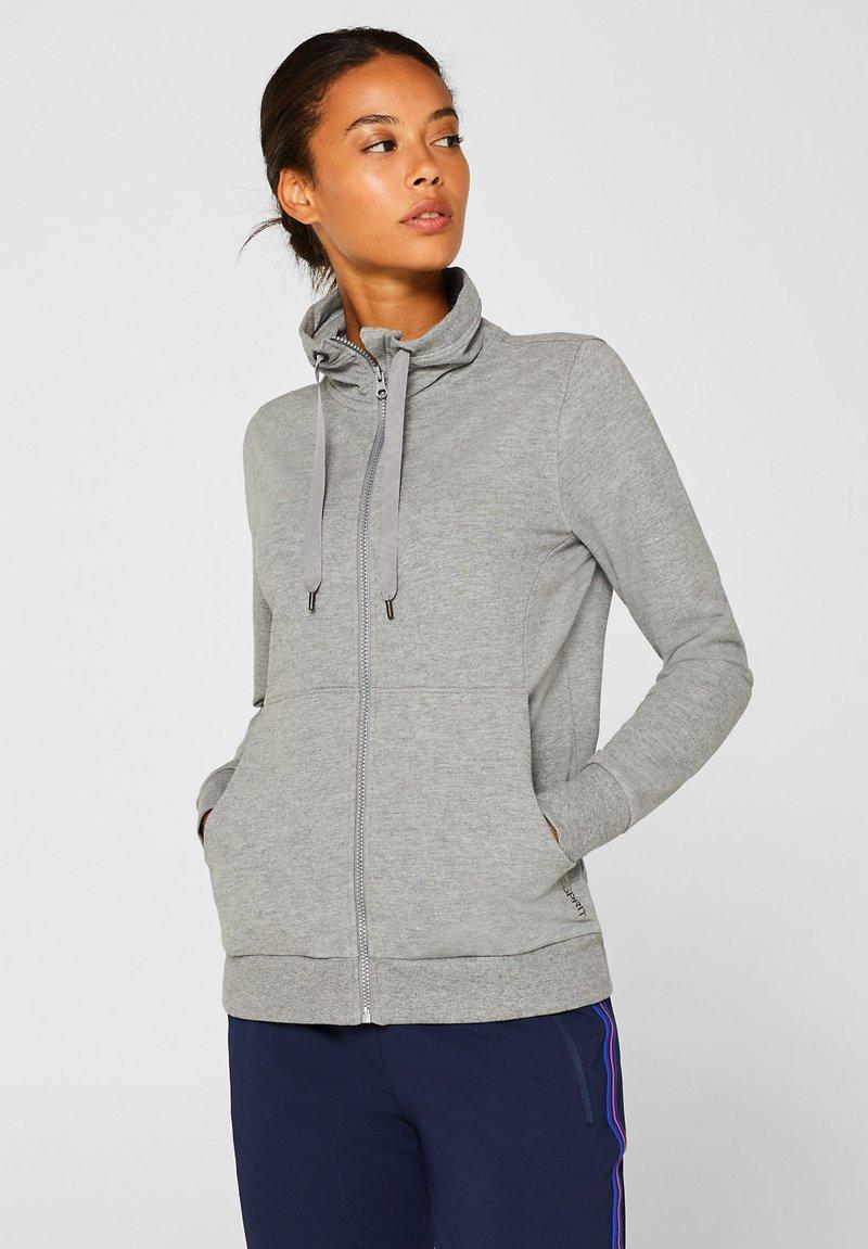 Esprit Sports - Sweatjakke /Træningstrøjer - medium grey