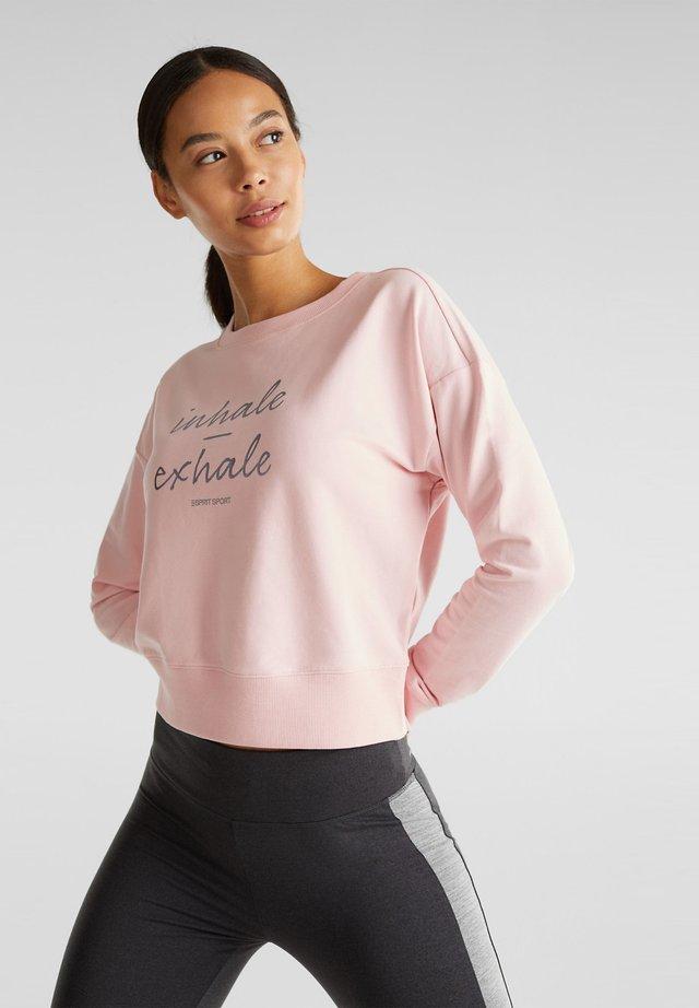 MIT STRETCH - Sweatshirt - light pink