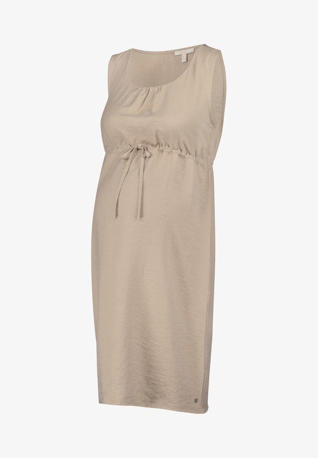 Korte jurk - beige