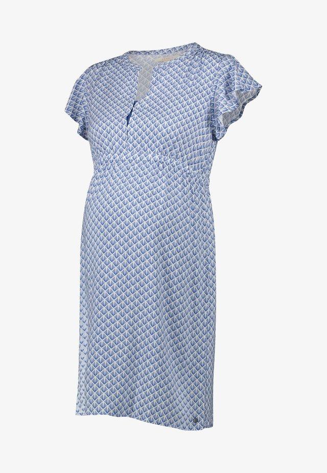 Korte jurk - grey blue