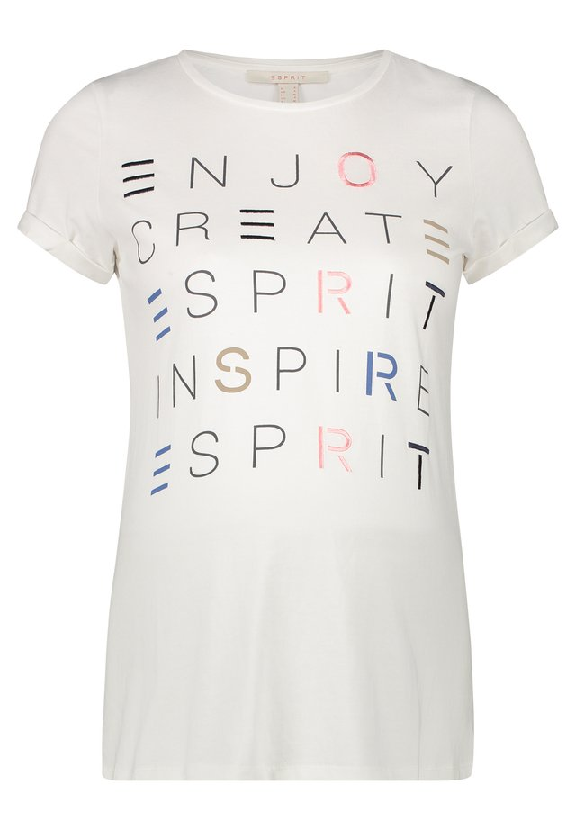 T-SHIRT - T-shirts print - white