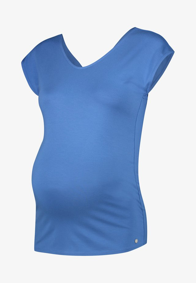T-shirts basic - grey/blue